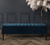 Blue Bedroom Benches