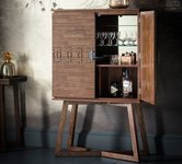 Brown Wine Racks and Drinks Cabinets
