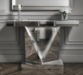 Mirrored Hall and Console Tables