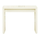 Cream High Gloss Console Tables