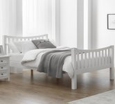 Double White Beds