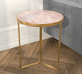 Gold Side Tables category tile.