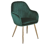 Green Velvet Dining Chairs