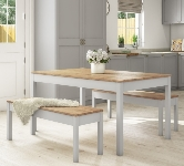 Grey 4 Seater Dining Sets