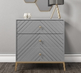 White Chest With 3 Drawers.