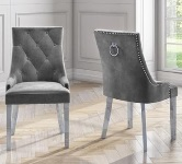 Grey Dining Chairs.