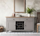 Grey Wine Racks and Drinks Cabinets