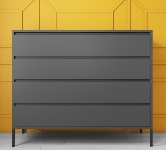Gloss Chest of 4 Drawers