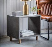 Grey Side Tables.