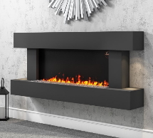 Grey Wall Mounted Fires