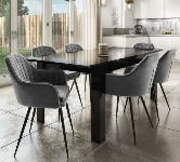 High Gloss 6 Seater Dining Sets