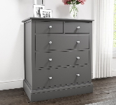 Kids Grey Chest of Drawers