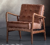 Leather Armchairs.