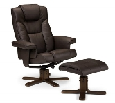 Leather recliner armchairs