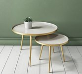 Metal Round Nests of Table