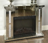 Mirrored Fireplace Suites