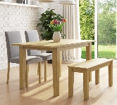 Oak 4 Seater Dining Sets