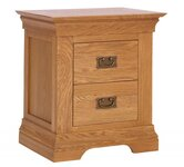 Oak Bedside Tables.