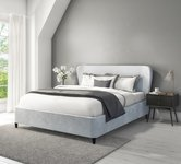 Upholstered Ottoman Grey Beds.
