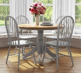 Grey Dining Table and Chairs.