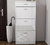 White Shoe Cabinets