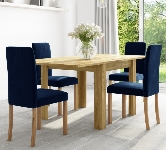 Space Saving 4 Seater Dining Sets