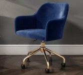 Velvet Office Chairs category tiles.