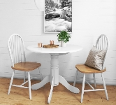 White 2 Seater Dining Sets