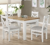 White 4 Seater Dining Sets