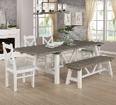 White 6 Seater Dining Sets