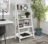 White Shelving.