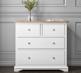 White 4 Drawer Chests of Drawers
