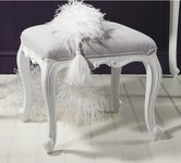 White Dressing Table Stools.