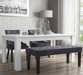 Extendable White Dining Sets