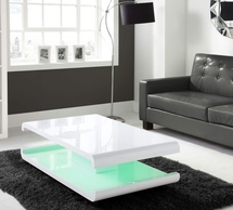 White High Gloss Coffee Tables.