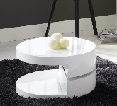 White Round Coffee Tables
