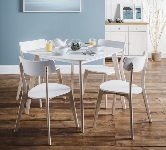 White Square Dining Sets