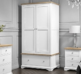 White Wardrobes With Drawers.