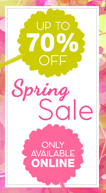 Spring Sale - up to 10% Off