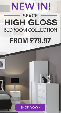space range bedroom collection from £79