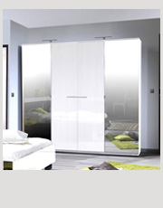High Gloss Wardrobes