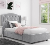Grey Single Bed Frames