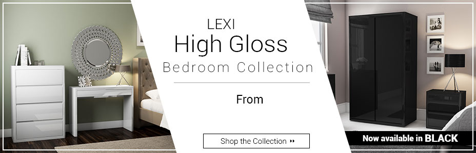 Lexi High Gloss Bedroom Collection