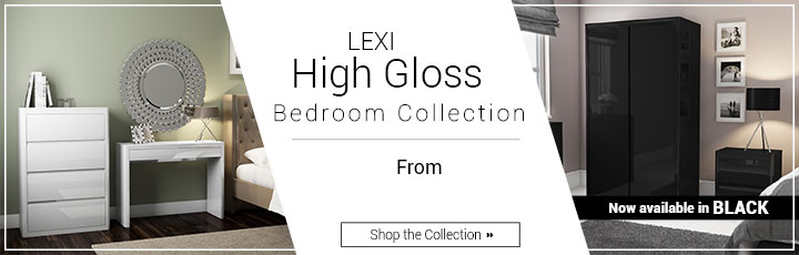 Lexi Gloss Bedroom Collection