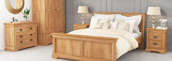 Loire Oak Bedroom Furniture Collection.