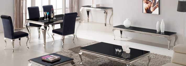 Mirrored and glass living room collections furniture 123 Mirrored living room furniture