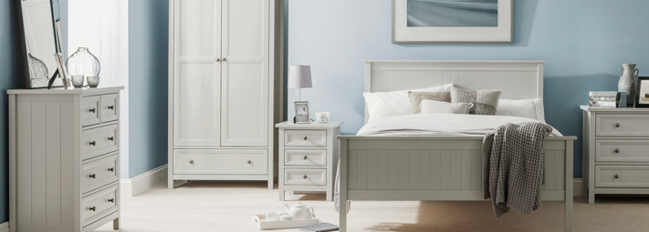 Maine Grey  Bedroom Furniture Collection.