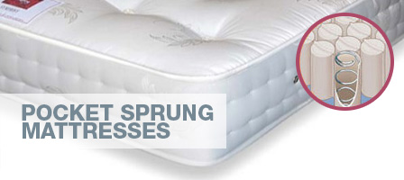 Pocket sprung mattresses