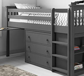 Grey cabin beds category tile.