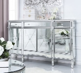 Mirrored Sideboards.
